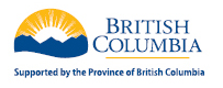 Supported by Province  of BC Gaming